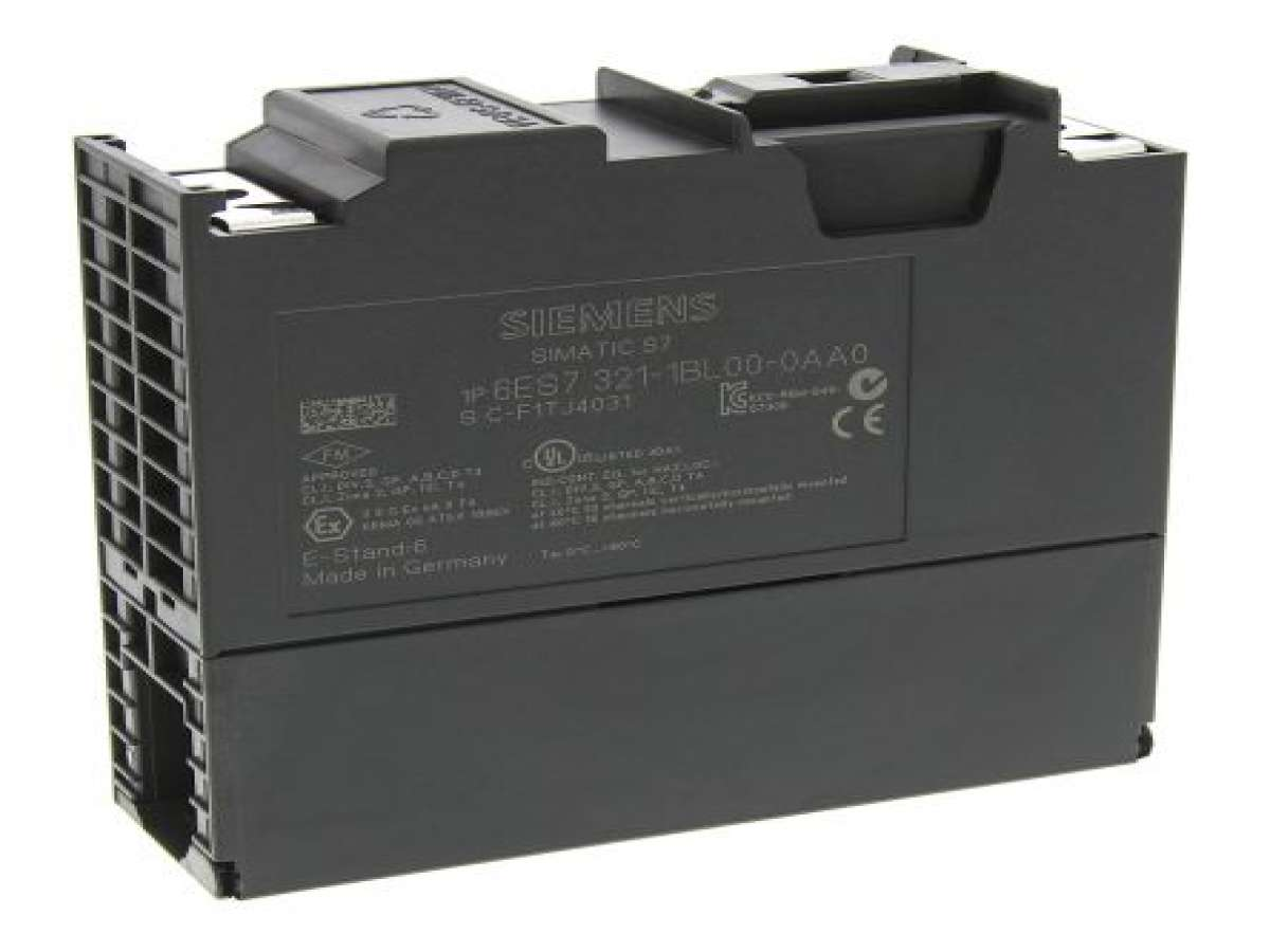 PLC / CONTROLLER - 6ES7321-1BL00-0AA0 SIMATIC S7-300, Digital input SM 321, Isolated 32 DI, 24 V DC, 1x 40-pole