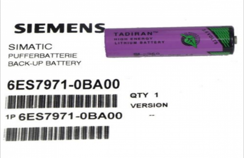 6ES7971-0BA00 / SIMATIC S7-400, BACK-UP BATTERY 3.6 V/2.3 AH